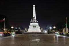 Monument of Jose Rizal Royalty Free Stock Photography