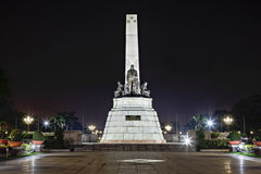 Monument of Jose Rizal Royalty Free Stock Photos