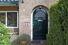 Monument juif chez Amersfoortseweg 165 à Hilversum Photographie stock