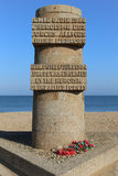 Monument Juno Beach Royalty Free Stock Photography
