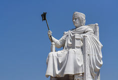 Monument of Justinian Royalty Free Stock Photo