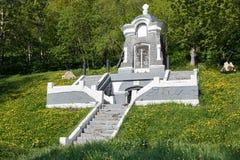 Monument-Kapelle, errichtet zu Ehren der erfolgreichen Verteidigung von Petropawlowsk vom Angriff des anglofranzösischen Geschwad Stockfoto
