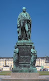 Monument of Karl Friedrich von Baden in Karlsruhe Royalty Free Stock Image