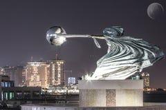 Monument in Katara, Doha Stock Photo