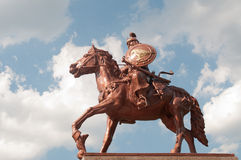 Monument of Khan Asparukh in Strelcha Bulgaria Royalty Free Stock Images