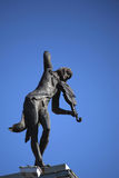The monument in Kharkov Stock Photography