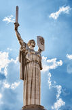 Monument in Kiev - Rodina - Mother Royalty Free Stock Images
