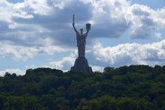 Monument in Kiev Stock Photography