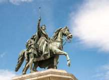 Monument of King Ludwig I Royalty Free Stock Image