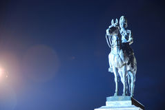 The monument of King Rama Five of Thailand Royalty Free Stock Image