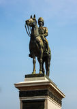 The monument of King Rama Five of Thailand Royalty Free Stock Photos