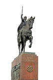 Monument of king Tomislav Royalty Free Stock Image