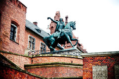 Monument Kosciuszko on Wawel hill in Cracow. Monument Tadeusz Kosciuszko on Wawel hill in Cracow (Poland Royalty Free Stock Images