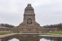 Monument ? la bataille des nations image stock