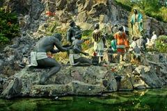 Monument La Ofrenda in Mexico city Royalty Free Stock Photo