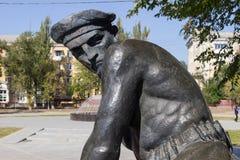 Monument la tombe de masse des marins des participants Images libres de droits