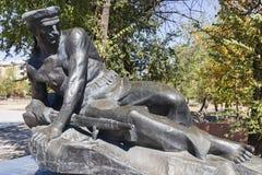 Monument la tombe de masse des marins des participants de l'opération terrestre Photos stock