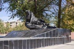 Monument la tombe de masse des marins des participants de l'opération terrestre en 1919 Photo stock