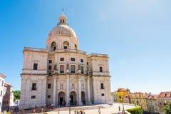 Monument Landm d'Alfama de cathédrale de Panteao Nacional Lisbonne Portugal image stock