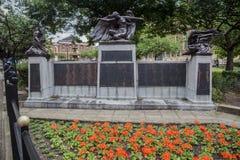 Monument Leicester England Lizenzfreies Stockfoto