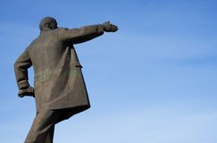 Monument for Lenin Royalty Free Stock Image