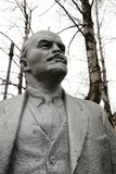 Monument of Lenin stock image