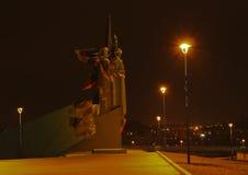 Monument Liberators of Donbass. Donetsk, Ukraine - November 5, 2010. Monument Liberators of Donbass (Sculptor Yu.I. Baldin, A.N. Porozhnyuk, Architect V.P Stock Photography