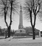 Monument of Liberty, Riga, Latvia, Europe Royalty Free Stock Image