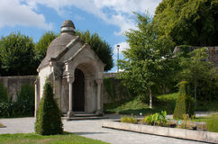 Monument in Limoges. A monument in a park of Limoges, France Royalty Free Stock Photography