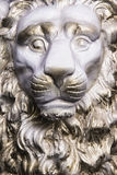 Monument a Lion King. Closeup of portrait Monument a Lion King Royalty Free Stock Photography