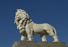 Monument of Lion. Royalty Free Stock Image