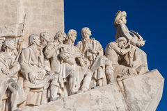 Monument Lisbonne de découvertes images stock