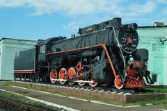 Monument locomotif l-0186 photographie stock libre de droits