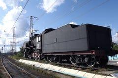 Monument of locomotive Royalty Free Stock Photo