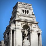 Monument in London Royalty Free Stock Photo
