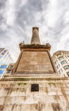 The Monument in London Stock Photo