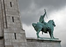 Monument of Louis IX of France, Paris, France Royalty Free Stock Images