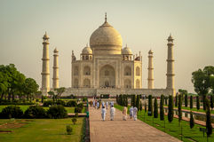 Monument of Love. Taj Mahal - Monument of Love Royalty Free Stock Image