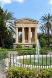 Monument, lower barakka gardens. Captured 26.09.2017 Stock Photography