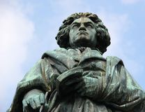 Monument of Ludwig van Beethoven Royalty Free Stock Images