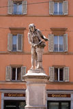 Monument of Luigi Galvani. Italian physician, physicist and philosopher in Bologna, Italy Royalty Free Stock Images