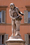 Monument of Luigi Galvani. Italian physician, physicist and philosopher in Bologna, Italy Stock Photos