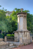 Monument of Lysicrates, Athens, Greece Royalty Free Stock Photography