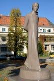Monument Lyudvikasu Raza (Ludwig Raza) (1776-1840) in Kaliningrad. Russia royalty free stock photos