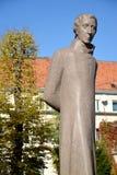 Monument Lyudvikasu Reza (Ludwig Reza) (1776-1840) i Kaliningrad Royaltyfria Bilder