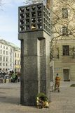 Memorial in Munich to Commemorate the victims of the Nazis Royalty Free Stock Images