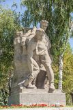 Monument on Mamaev Hill in Volgograd. Monument of Second World War Royalty Free Stock Photos
