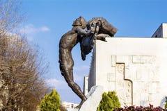 Monument of envy in Haskovo,Bulgaria   Stock Photos