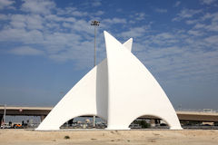 Monument in Manama, Bahrain Stock Photos