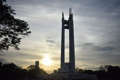 Monument. Manila Landmark President Manuel Quezon Memorial Royalty Free Stock Photography